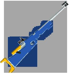 Une carabine de calibre 22